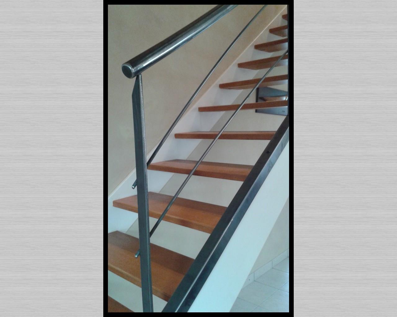 Bien-aimé Escalier métal inox et acier - Arinox NT75
